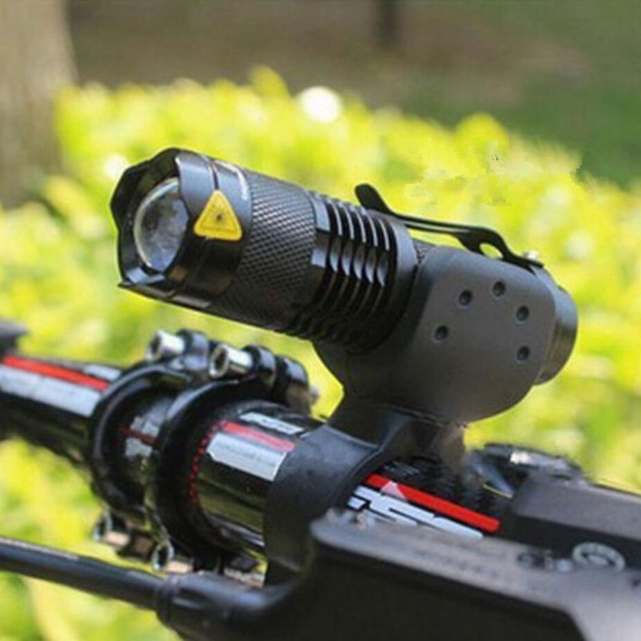 Велосипедные фары 7 Вт 2000 люмен 3 режима велосипед Q5 LED Велосипеды спереди свет велосипед фары лампы факел Водонепроницаемый зум фонарик bl0502