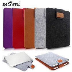 7.9 9.7 Inch Universal Wol Merasa Tablet Lengan Tas untuk iPad 1 2 3 4 Mini Air 2 untuk samsung M iPad Case Kantong Saku