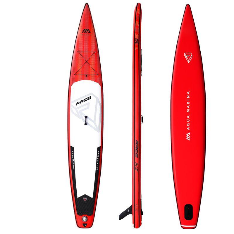 NEUE 427*69*15 cm AQUA MARINA 2019 RENNEN aufblasbare sup stand up paddle board aufblasbare surf surfbrett schnelle rennen geschwindigkeit wasser sport