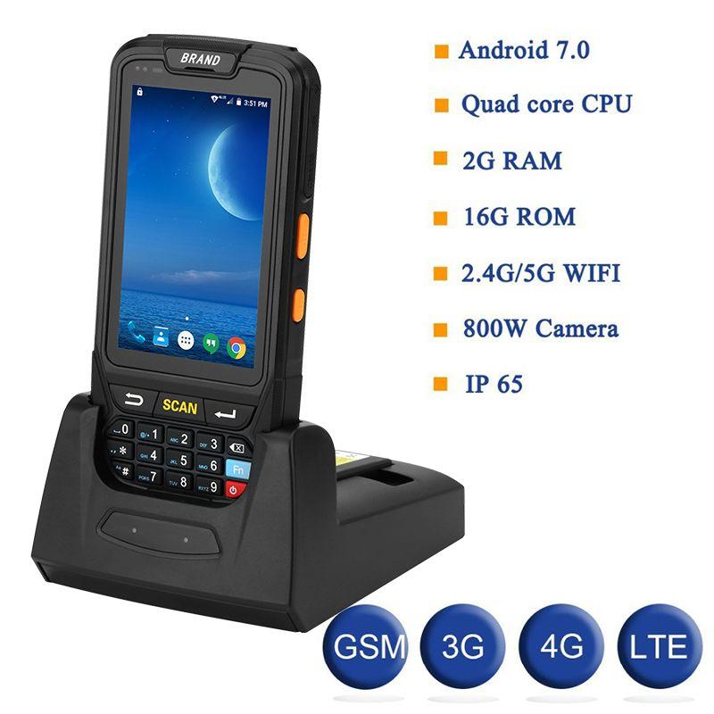 PDA Terminal 1D/2D Barcode Reader Android 7 Daten Sammler Wifi Bluetooth für Inventar Management Lager System