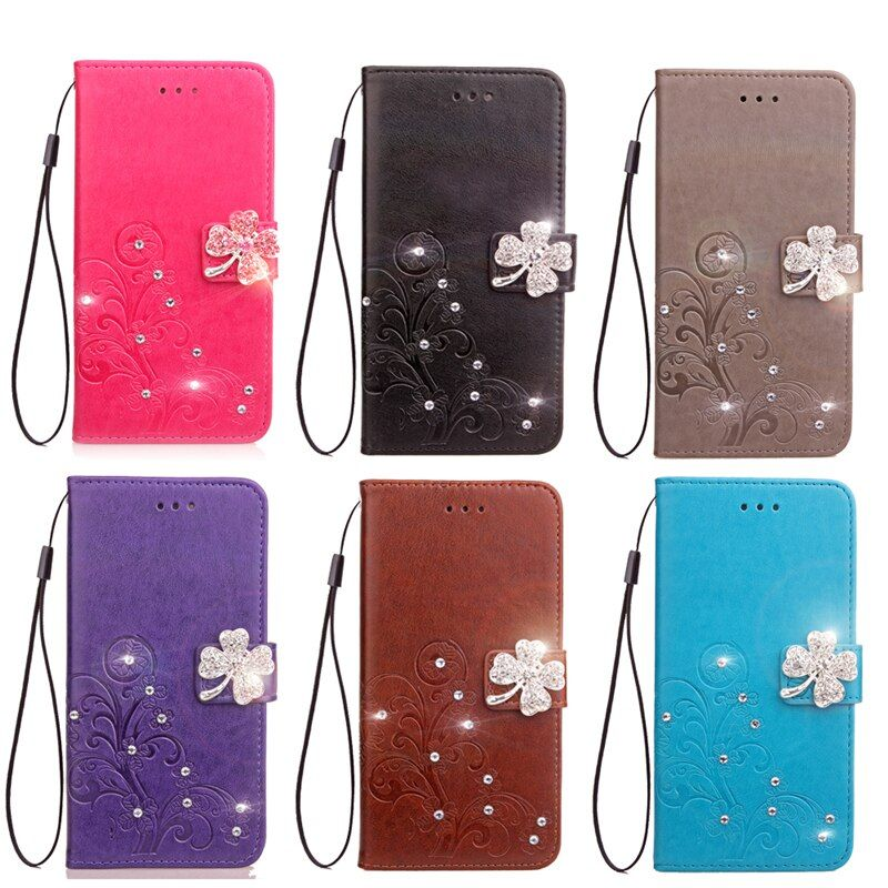 For Wiko Lenny3 Holder Phone Case silicone PU Embossing Stick Case For coque Wiko Lenny 3 Case cover Flip Wallet Stand