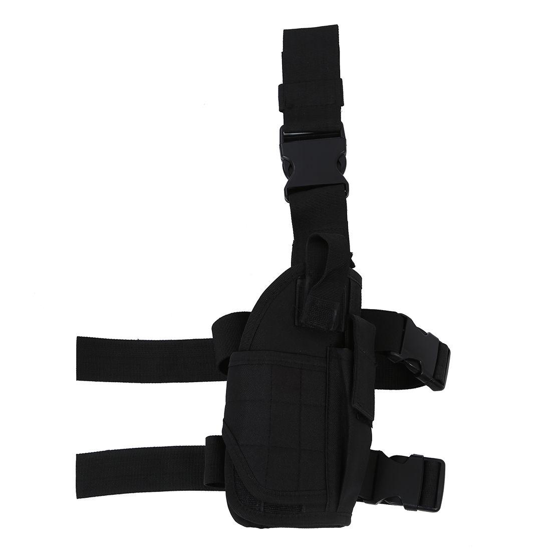 New Sale Tactical Army Pistol/Gun Drop Leg Thigh Holster - Black
