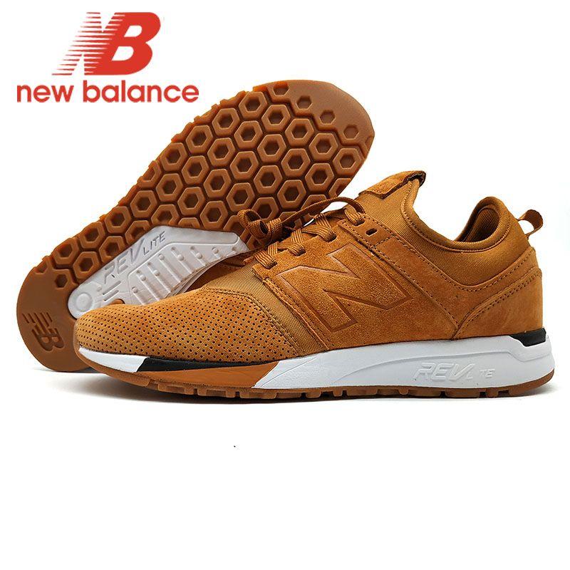 NEUE BALANCE NB247 männer jogging schuhe atmungsaktiv Badminton Schuhe Braun Neue Ankunft