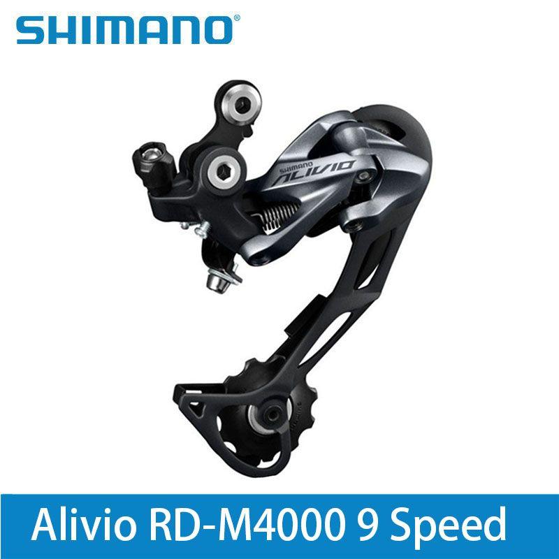 <font><b>Shimano</b></font> Alivio RD-M4000 9 Speed Mountain Bike Rear Derailleur 27 Speed Black Lucky Crazwind Hot Road Bike