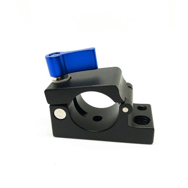 25mm Rail Rod Clamp Bracket Holder with 1/4 3/8 Mount for DJI Ronin M MX DJI Accessories Monitor Clip Photo Studio Pipe