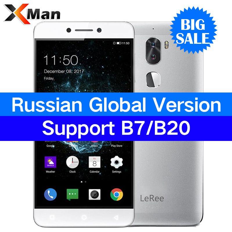Original Coolpad leeco <font><b>LeRee</b></font> Le3 Letv cool 1 le 3 Dual Pro 3GB RAM 32GB Mobile Phone 5.5 FHD Snapdragon 652 13MP Dual Camera