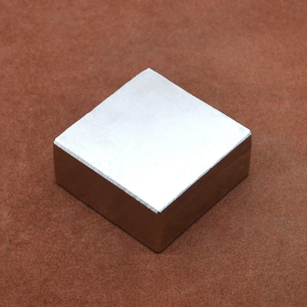 Aimant néodyme N52 1 pièces Bloc Aimant 40*40*20mm aimants de Terres Rares
