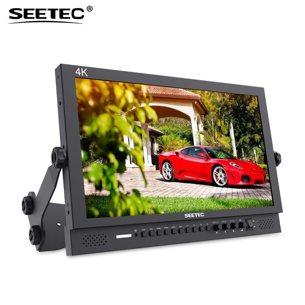 Seetec 17.3 Inch Aluminum Design 1920x1080 4K Broadcast Monitor with 3G-SDI HDMI AV YPbPr 4K173-9HSD-192(Original P173-9HSD)