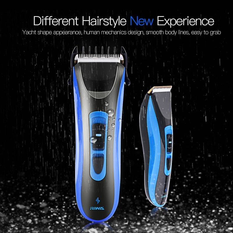 Super Power & Quiet Hair Clipper CE certificated Waterproof Professional Rechargeable Electric Hair Trimmer Hairdresser Use S34