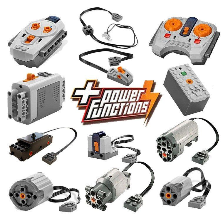 Technic Power Functions Motor Set IR RX TX Servo Battery Box Building Blocks Bricks Kids Toys for children Compatible Legoings