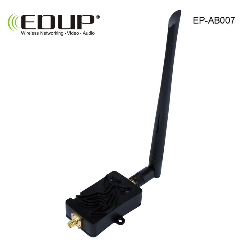 Wifi Signal Booster 2.4Ghz 4W 802.11 Signal Extender Wifi Repeater Broadband Amplifiers for Wireless Router Network Card