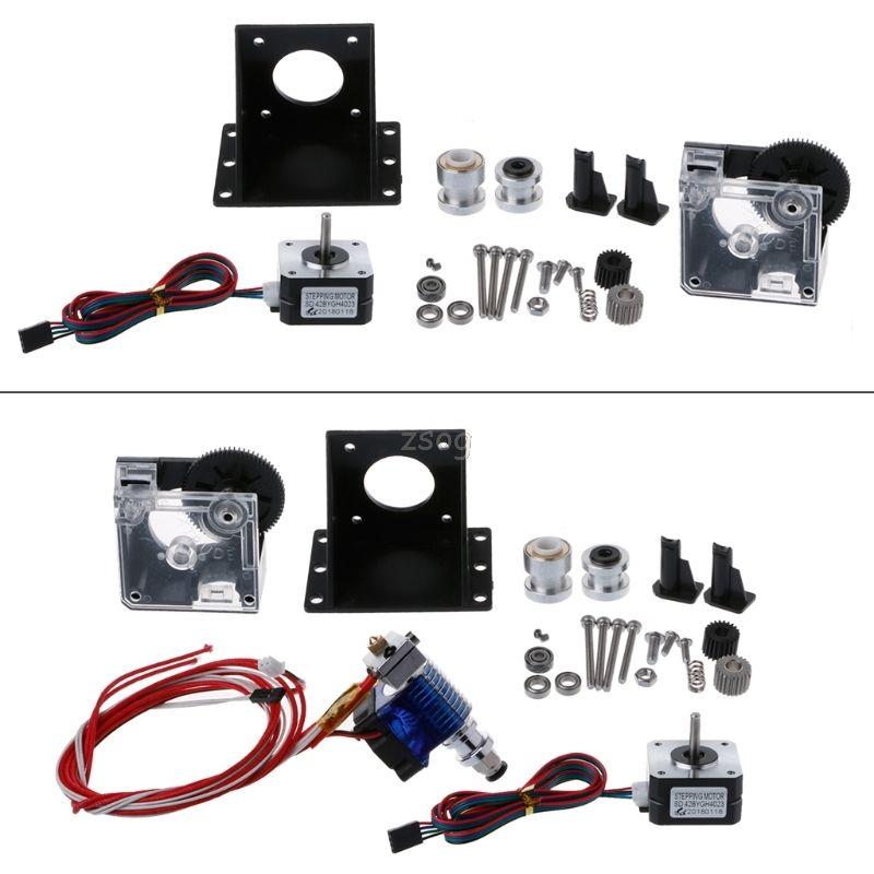 Titan Extruder Full Kit with NEMA 17 Stepper Motor for 3D Printer E3D 1.75/3.0 JUN05 dropship