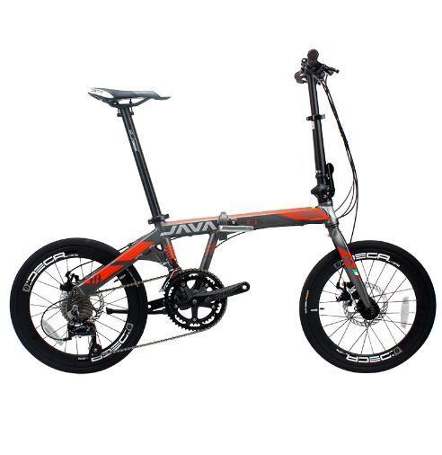 Faltrad Aluminium Legierung 20 zoll 18 Geschwindigkeit Doppel Disc Bremsen Erwachsene Unisex Faltbare Städtischen Hohe Qualität Fahrrad