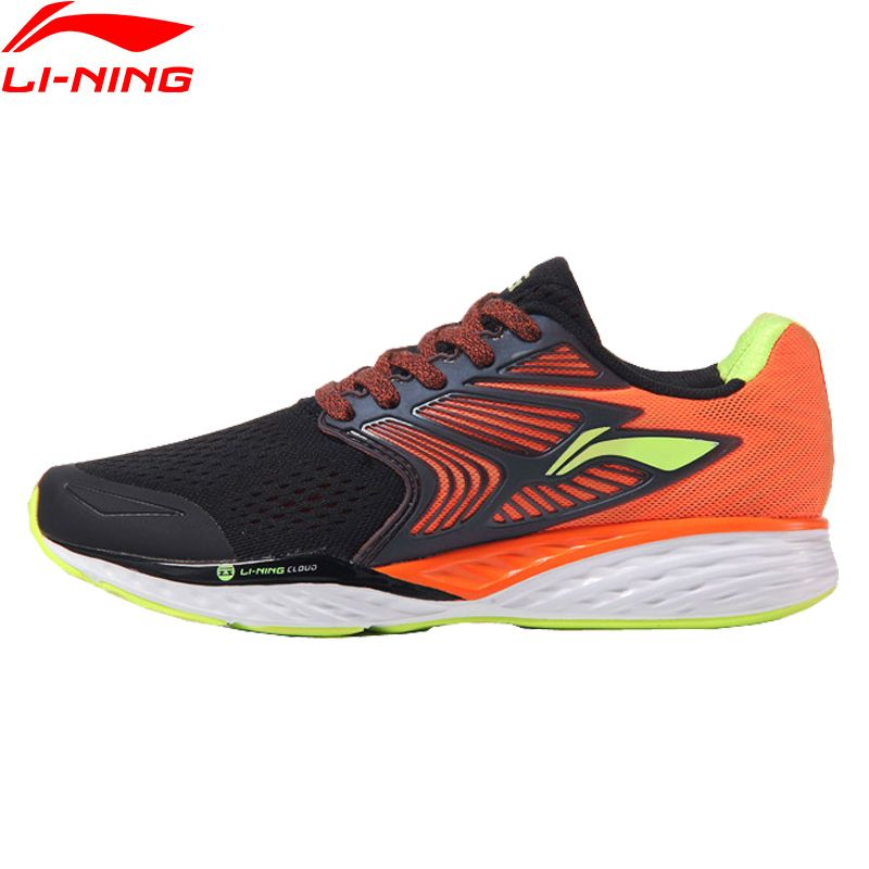 Li-Ning Men's LN CLOUD IV PLUS Professional Running Shoes Cushion LiNing MONO YARN Sneakers Sport Shoes ARHM019 XYP547