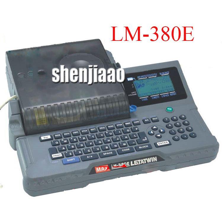 MAX Linie Anzahl Maschine Code Maschine Linie Maschine Drucker Wärme Transfer Modus (300 dpi) LM-380E