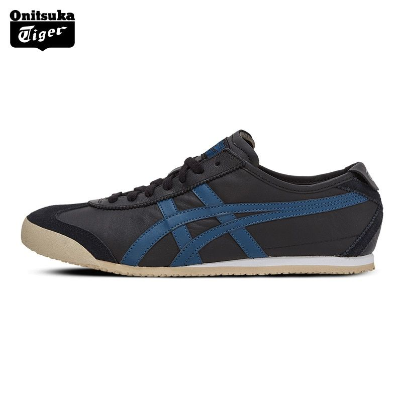 New Arrival ONITSUKA TIGER MEXICO 66 Men's Women Skateboarding Shoes Leather Sports Shoes Boy Sneakers D4J2L-9058