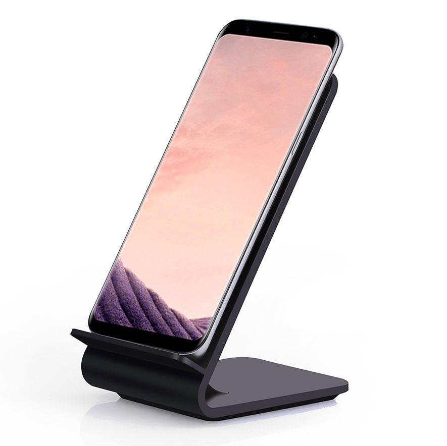 Chargeur sans fil rapide, support de charge sans fil Itian Quick Qi A8 pour iPhone 8 iPhone X Samsung Note8 S8 S8 + S7 S7 edge Note 5 S6