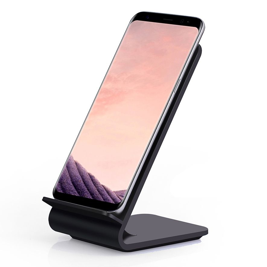 Rapide Sans Fil Chargeur, Itian Rapide Qi Sans Fil De Charge Stand A8 pour iPhone 8 iPhone X Samsung Note8 S8 S8 + S7 S7 bord Note 5 S6
