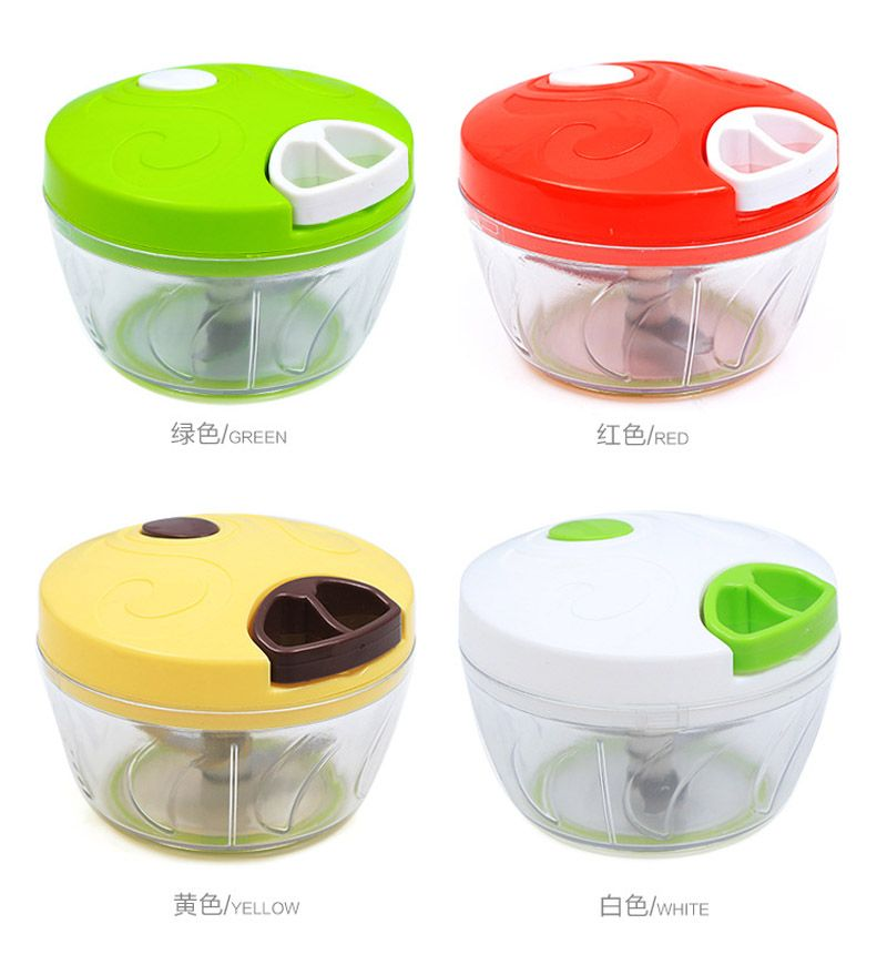 Modern Manual Food Chopper Hand Nuts Vegetable Fruit Processor Chef Mini Slicer Grinder