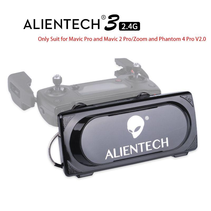 ALENTECH 3 DJI Mavic 2 Pro/Zoom Phantom 4 Pro V2.0 Signal Booster Range Extender Martian Pro for Mavic Pro 1&2 Fly Above 5km