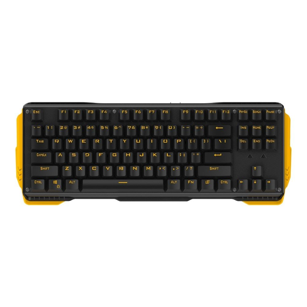 87Keys Mechanical gaming keyboard with Gateron Switch Double color Injection keycap Multimedia Keys USB Wired Laptop PC Keyboard