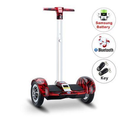 A8 hoverboard elektrische roller Skateboard Samsung batterie Hoverboard mit griff Bluetooth Selbst Ausgleich Roller elektrische