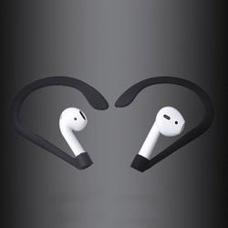 Marsnaska Top Quality Earhook Holder for Apple AirPods Strap Silicone Sports Anti-lost Ear Hook 1 Pair