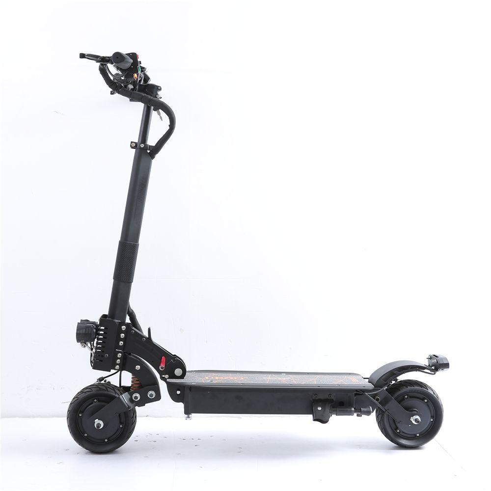 UBGO 1006 48V21A Doppel Fahrer 1900 watt Motor Leistungsstarke Elektrische Roller 8 zoll E-Roller