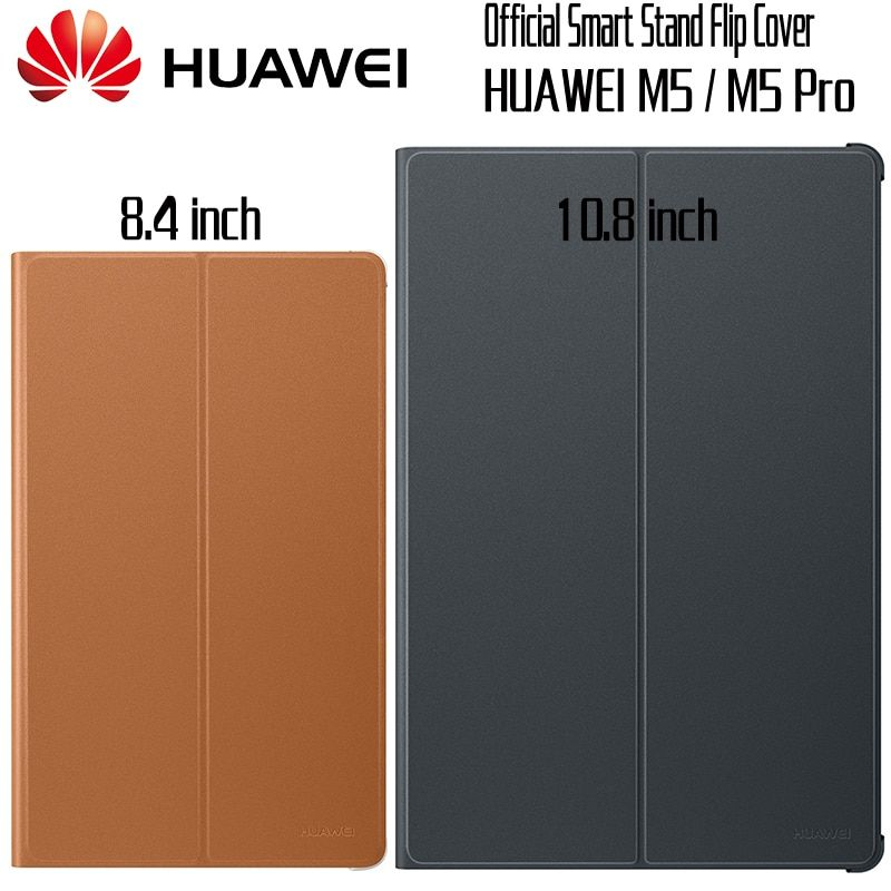 HUAWEI M5 Pro Case Official Original Smart View HUAWEI Mediapad M5 Cover Kickstand Flip Leather M5 Case Tablet Cover 8.4 10.8