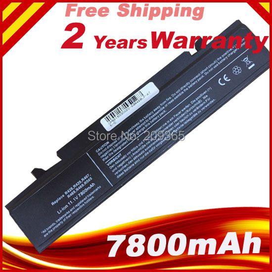7800 mah batterie für SAMSUNG RC410, RC420, RC510, RC520, RF410, RF510, RF511, RF710, RF711, RV408, RV411, RV415, RV508, RV509, RV511, RV515