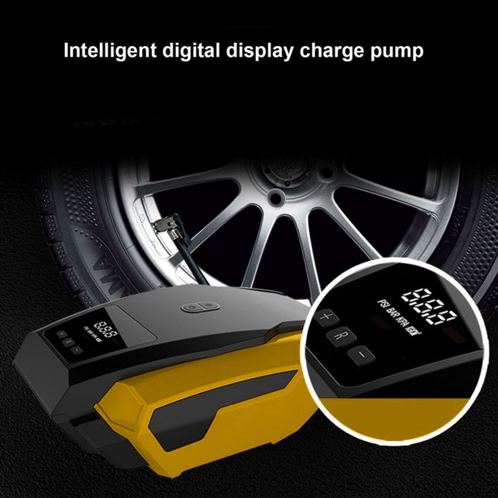 Car LED Digital Display Air ComprESSor Portable Inflatable Pump 12V Automobile Tire Fast Inflator Mini Electric Auto For Trave