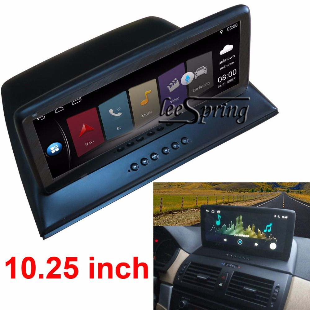 10.25 inch Car Intelligent System Car Multimedia Player for BMW X3 E83 with GPS Navigation MP5 Bluetooth Wifi