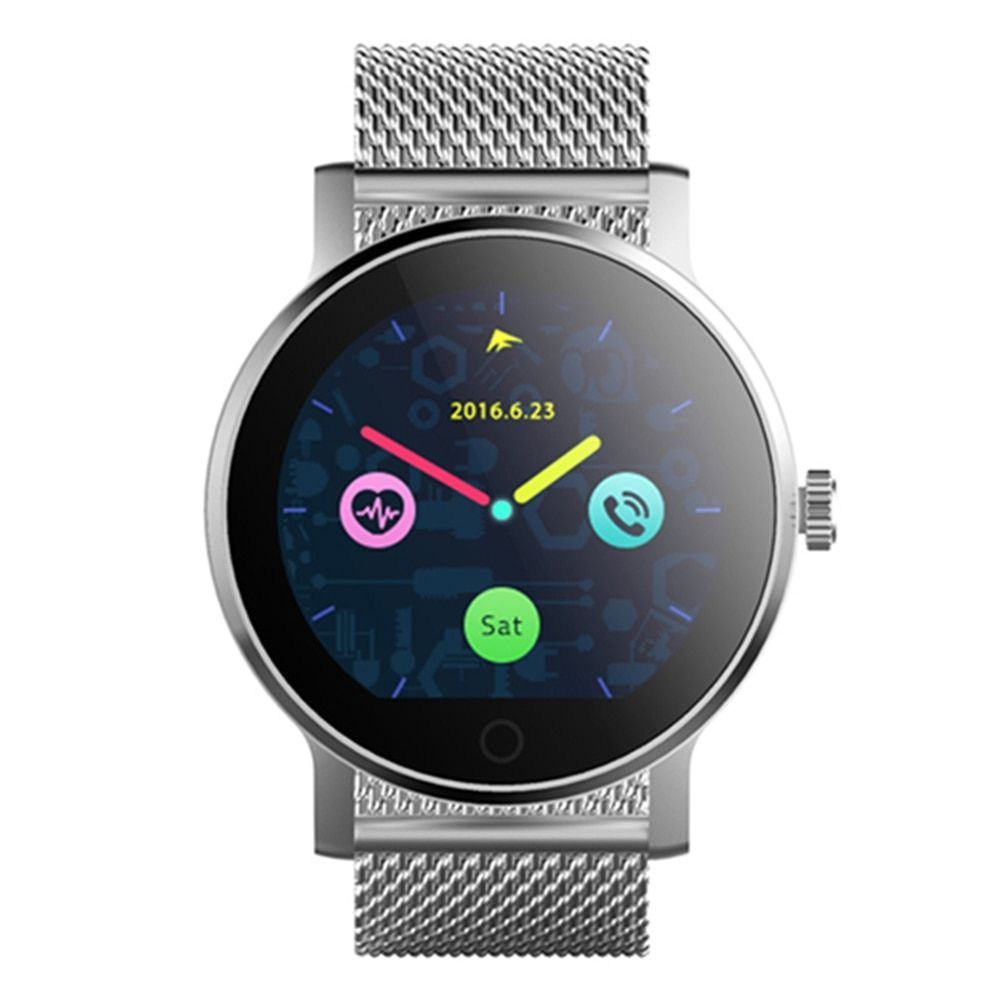 SMA-09 Bluetooth 4.0 Heart Rate Monitor Smart Watch Multiple UI Pedometer Sleep monitor Message reminder PK GT08 Q90 Q50 K88H