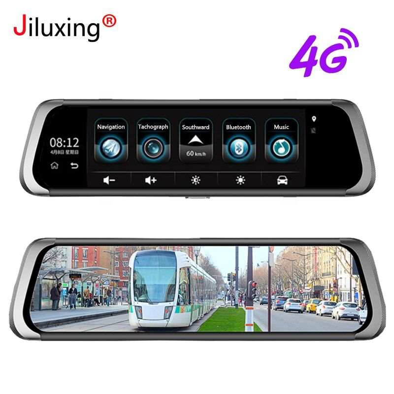 Jiluxing D06S 1080P 4G Car DVR GPS Navigation WiFi Bluetooth 10