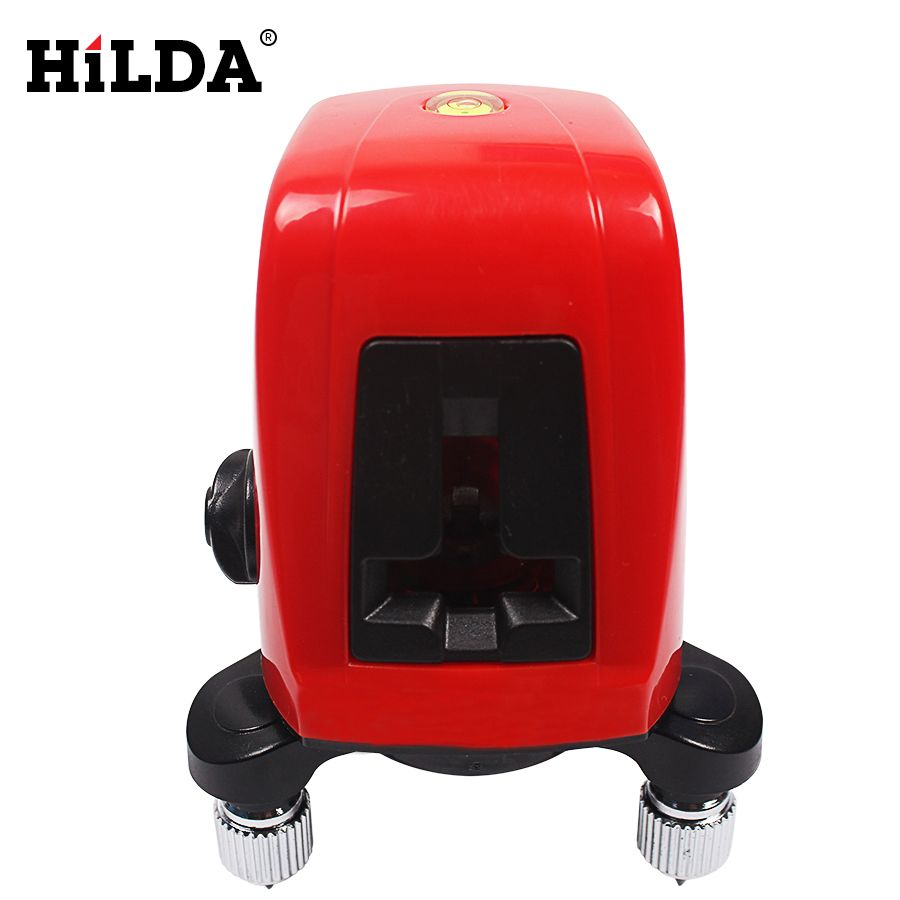 HILDA AK435 360 degree self-leveling Cross Laser Level 1V1H Red 2 line 1 point Rotary Horizontal Vertical Red Cross laser Levels