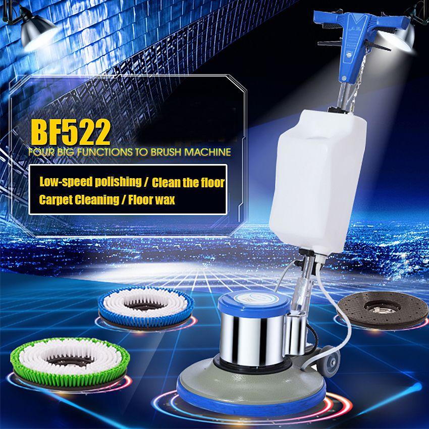 Home Bad Teppich Reinigung Pinsel Hand Push Boden Wisch Maschine Hotel Elektrische Kehren roboter Waschen Teppich Reiniger Pinsel
