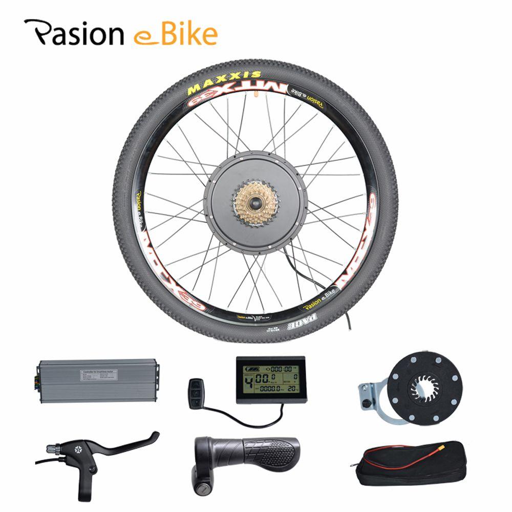 PASION E FAHRRAD 48 V 1500 Watt Motor Elektro-bike-kit Elektro-fahrrad Umbausätze für 20 24 26 700C 28 29 Hinterrad Fiets