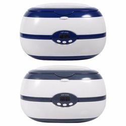 600 ml 35 W mini limpiador ultrasónico joyería gafas relojes limpiador dental Limpieza máquina ultrasónica hogar Bañeras EU/US enchufe
