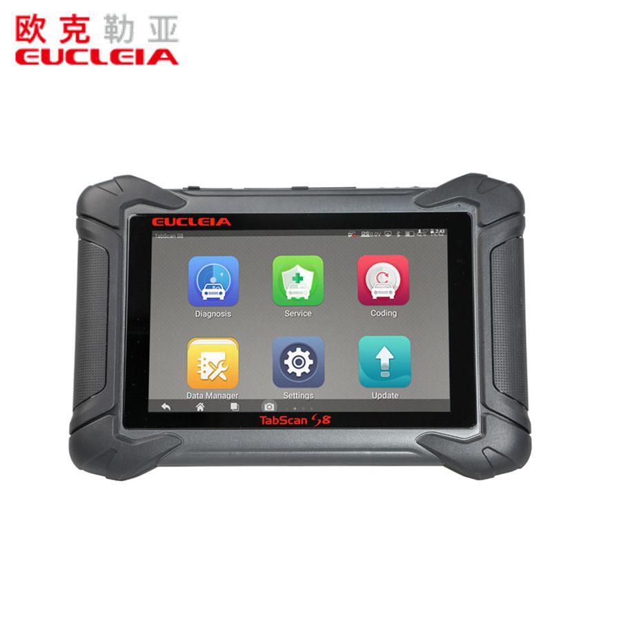 EUCLEIA TabScan S8 Automotive Intelligente Dual-modus Diagnose System Freies Update Online für 18 Monate