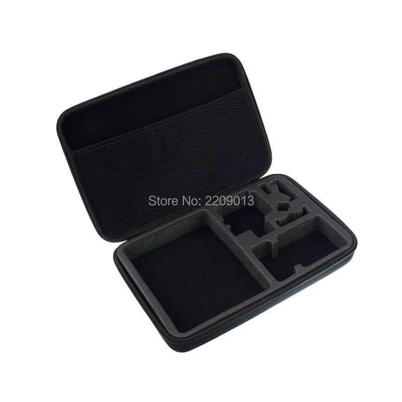 SHOOT EVA Large Size Box Portable Collection Case Bag for GoPro HERO5 HERO4 5 4 3 Session SJCAM SJ4000 Xiaomi Yi 4K Accessories