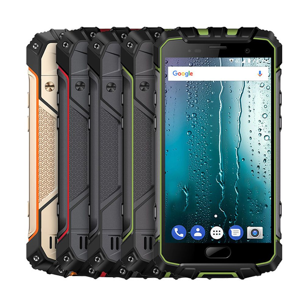 Ulefone Armor 2S IP68 13MP Android 7.0 5.0'' 9V/2A MT6737T Quad Core 2GB+16GB Waterproof NFC Fingerprint 4G Mobile Phone 4700mAh