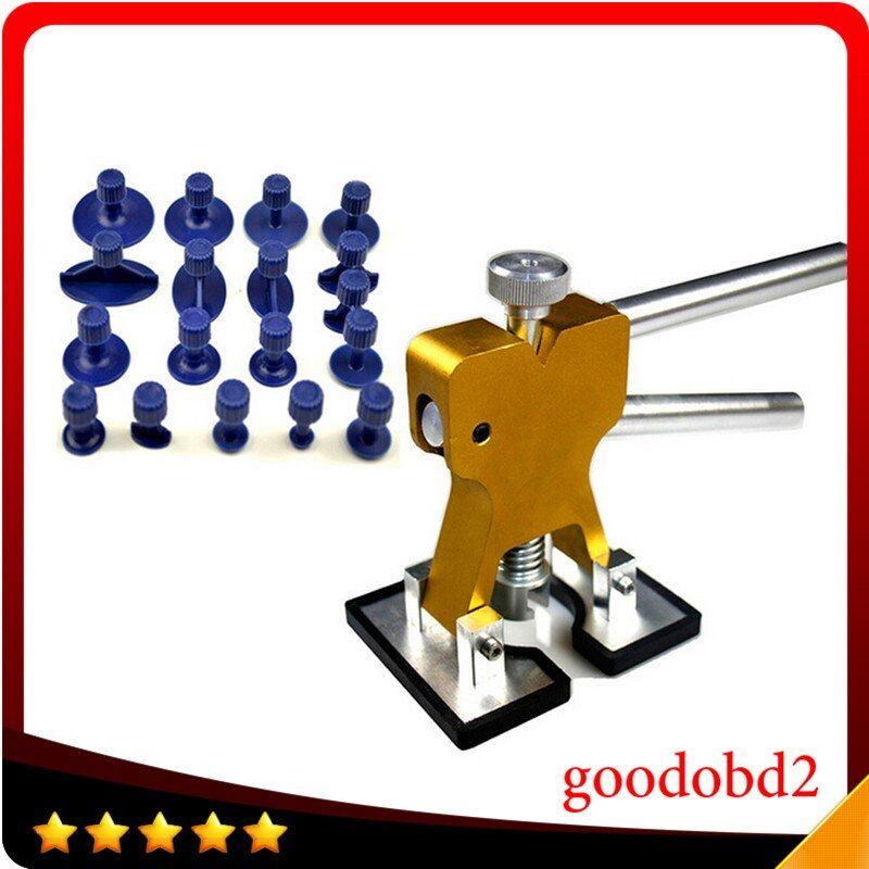 PDR Tool Newest 18pcs/set Design Golden Car Paintless Dent Repair Tools/Auto Dent Lifter Removal Auto Body PDR Tools Toolkit