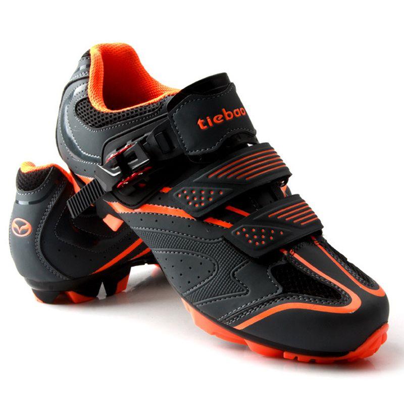TIEBAO Cycling Shoes Bicycle Sports Shoes SPD Zapatos de Mountain Bike MTB Ciclismo Bloqueo Zapatos de Bicicleta De MTB Shoes