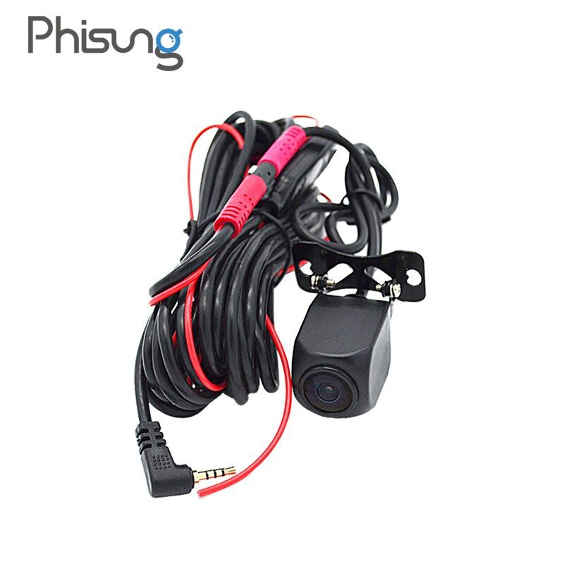 HD Night Vision rear camera with 5.7 meters cable+0.1 Lux vehicle camera+IP67 Waterproof back cam for Phisung Android Car DVR