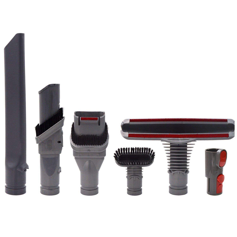 Accessoires Kit de Remplacement pour Dyson V8 V7 V6 V10 SV10 SV11 Aspirateur-Pièces De Rechange Brosses Outils Pièces Jointes Ensemble pour Dy