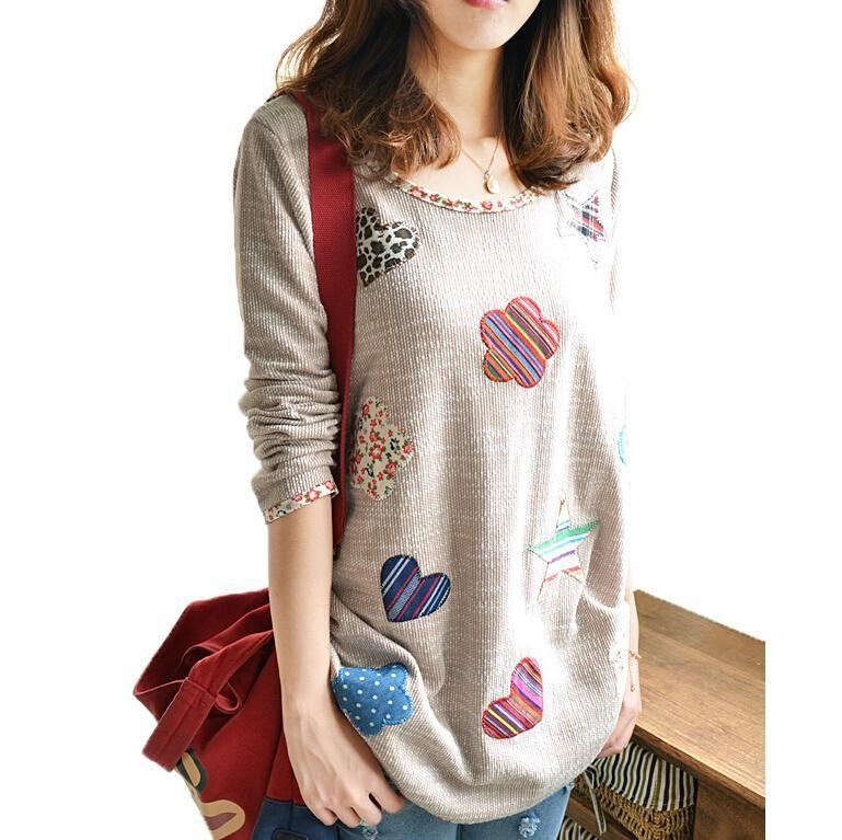 Vintage Floral broderie femmes vêtements lin manches longues Blouses 2018 automne Kimono chemise de grande taille hauts Blusas Y Camisas Mujer