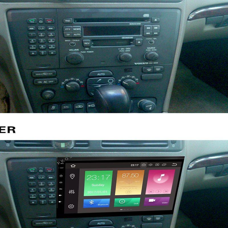 8 Core Android 9.0 4 + 32G Auto Radio Audio video GPS Navi Player Für Volvo VOLVO S60 V70 XC70 multimedia Head Unit DVD IPS Wifi OBD