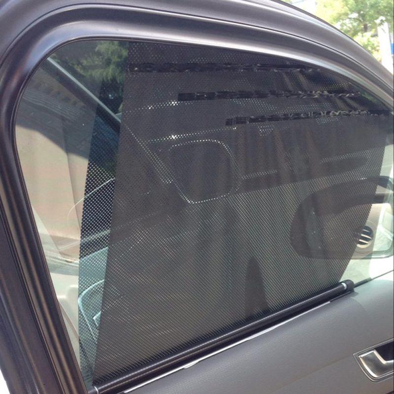 New Universal Car Sunscreen Car Curtain Window Auto Car Curtain Side Window Car Sun Shade Window Curtain 65*59*55cm