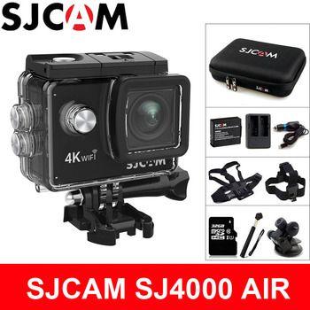 SJCAM SJ4000 AIR Action Kamera Deportiva 4K @ 30FPS WiFi 2,0 inch LCD Screen Tauchen 30m Wasserdichte SJ 4000 cam Extreme Sport DV
