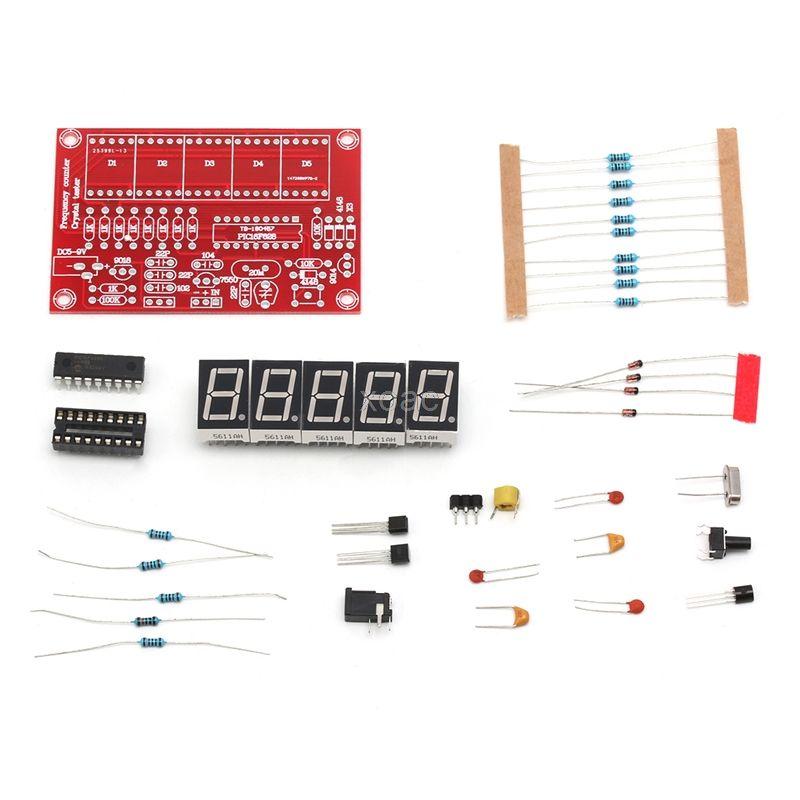 1 hz-50 mhz Kristall Oszillator Frequenz Zähler Meter 5-Digital Led-anzeige Kit M05 dropship